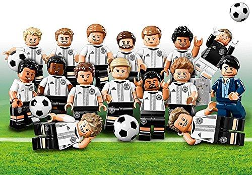 LEGO 71014 Minifigur - DFB - Die Mannschaft: Alle 16 Verschiedene Figuren (Kompletter Satz)