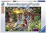 Ravensburger 17072 Versteckte Tiger, Erwachsenenpuzzle