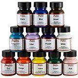 Angelus - Kit di partenza di colori acrilici per pelle, Multicolor, UK 1 Oz each