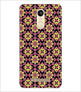 PrintDhaba Pattern D-5242 Back Case Cover for XIAOMI REDMI NOTE 3 (Multi-Coloured)