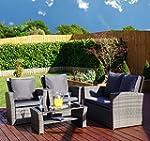 New Rattan Wicker Weave Garden Furnit...