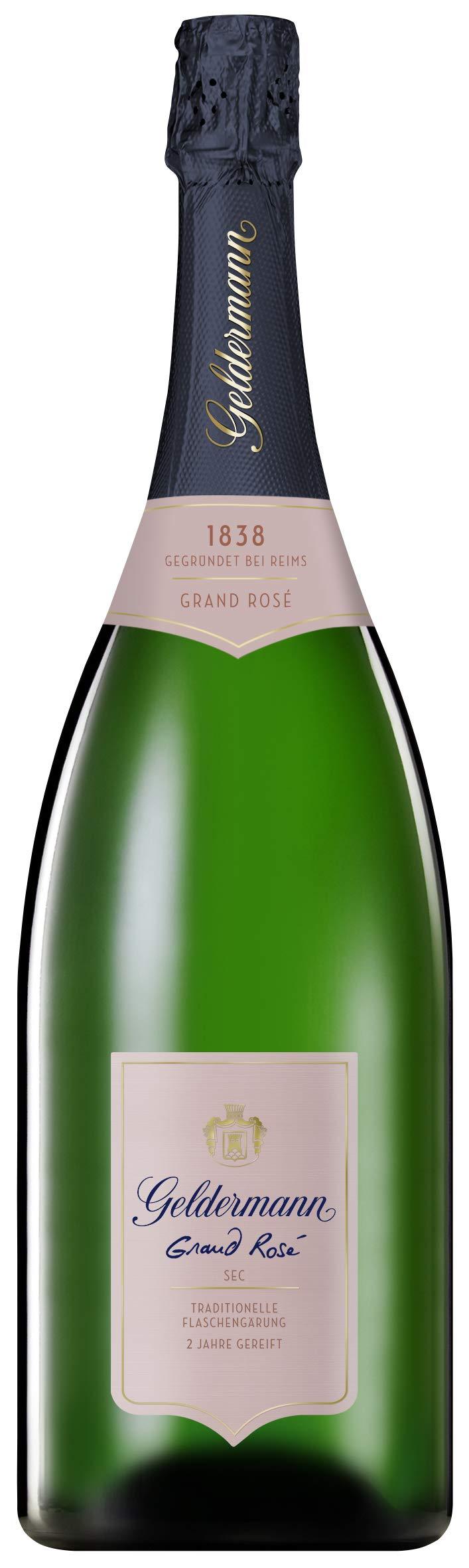 Geldermann-Grand-Ros-Sekt-Magnum-in-traditioneller-Flaschengrung-1-x-15-l