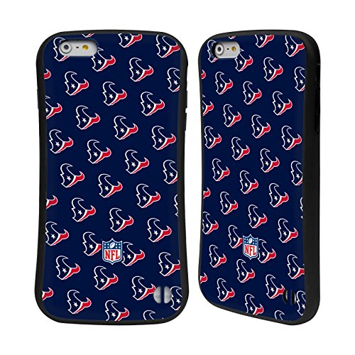 Ufficiale NFL Righe 2017/18 Houston Texans Case Ibrida per Apple iPhone 5 / 5s / SE Pattern