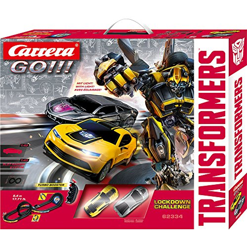 Carrera Go!!! - 20062334 - Circuit De Voiture - Lockdown Challenge - Transformers