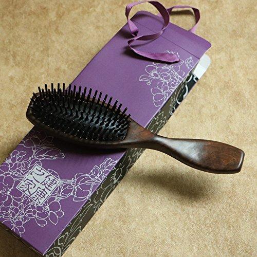 YUANWEN Massage Kamm/Luftkissen Kamm/Ebenholz Kamm/Haushalt lockiges Haar Kamm/antistatische Haarausfall Kamm/Ballon Kopf Kopfhaut Kamm