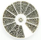 Edelstahl Fasermaterial Schrauben Muttern Sortiment Kit Set M1M1