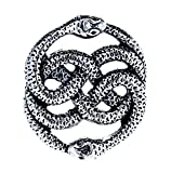 Schlangen Anhänger aus Edelstahl Nr.19A