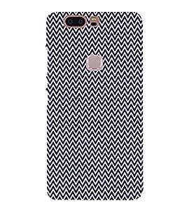 Blue Chevron Arrows 3D Hard Polycarbonate Designer Back Case Cover for Huawei Honor V8