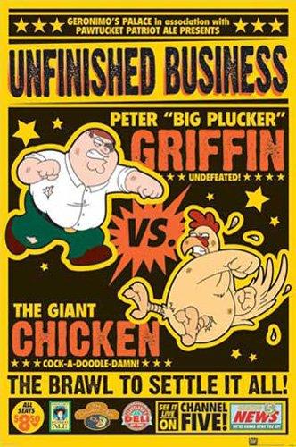 family-guy-poster-chicken-fight-accessoires-pas-de-cadre
