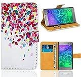 Samsung Galaxy Alpha Housse Coque, FoneExpert Etui Housse Coque en Cuir...