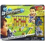 Hasbro - B-Daman Crossfire - Mur de Bataille - Aire de Combat + 2 Figurines Lance-Bille