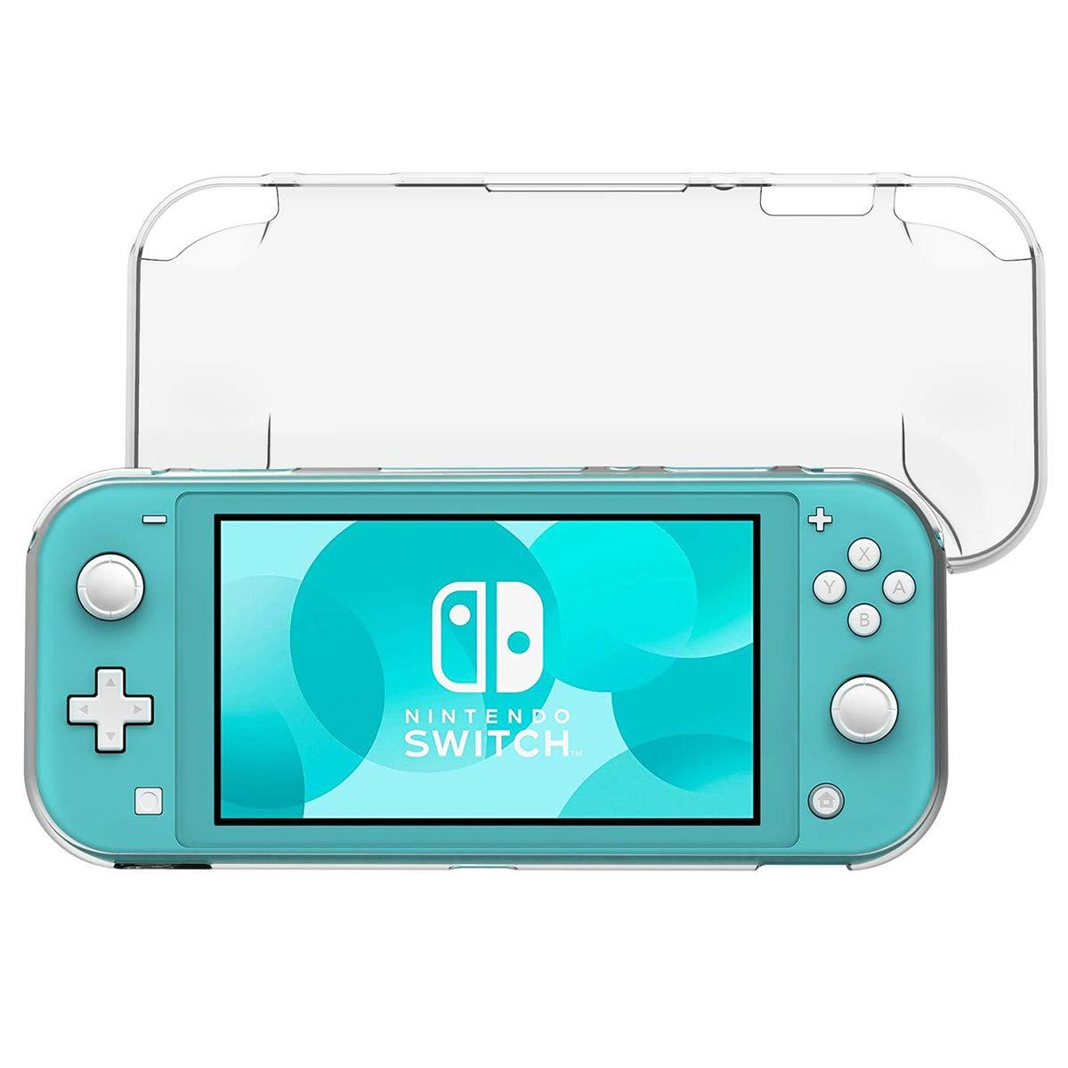 ELYCO Coque pour Nintendo Switch Lite, TPU Transparente Coque [Absorption des Chocs] [Anti-Rayures], Souple Coquille Housse Étui de Protection Case pour Nintendo Switch Lite