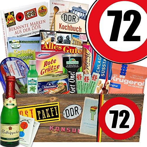 Ossi Paket XXL | Zahl 72 | Geschenk Ideen Mutti | Spezial Geschenk - Spezial-paket