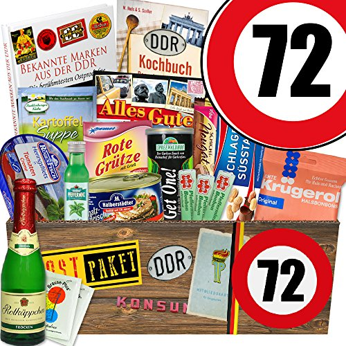 Ossi Paket XXL | Zahl 72 | Geschenk Ideen Mutti | Spezial Geschenk -