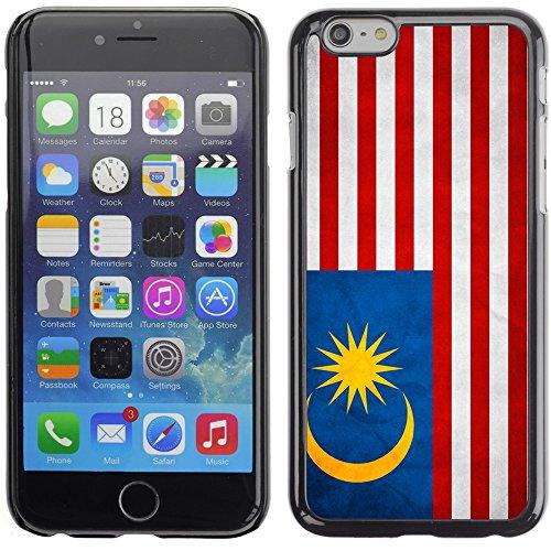 Graphic4You Vintage Uralt Flagge Von Philippinen Philippinische Design Harte Hülle Case Tasche Schutzhülle für Apple iPhone 6 Plus / 6S Plus Malaysia Malaysier