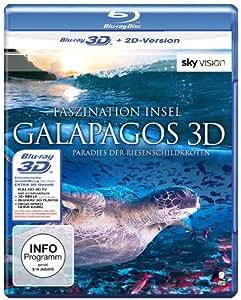 Faszination Insel - Galapagos (SKY VISION) [3D Blu-ray + 2D Version]