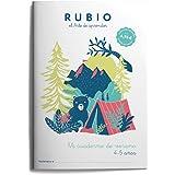 Mi cuaderno de verano RUBIO. 4-5 años: 2