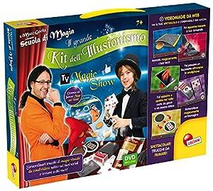 Liscianigiochi 35632Escuela de Magia Kit de Magia El Gran Kit del ilusionismo (Il Grande Kit dell