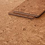 CORCASA Korkboden Design strukturiert Hartwachsöl Klicksystem warmer Kork Bodenbelag Klick Kalahari