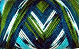 #7: WOA Fashions Acrylic Hand Knitting Yarn - Pack of 2 (Multi Green Blue)