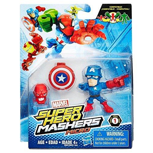 Marvel Avengers Superheld Mashers Micro - Captain America
