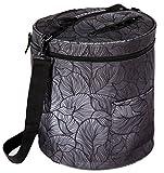 Kenley Stricktasche Stricken Häkeln Aufbewahrung Tasche für Wolle, Garn und Fäden - Organizer mit Taschen für Strickzubehör und Häkelnadel - Schützt die Wolle und verhindert Verfitzen