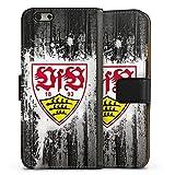 DeinDesign Apple iPhone 6 Tasche Leder Flip Case Hülle VfB Stuttgart Fussball Stuggi