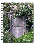 Country House 2019- Landhaus, Buchkalender, Taschenkalender, Terminplaner - 16,5 x 21,6 cm