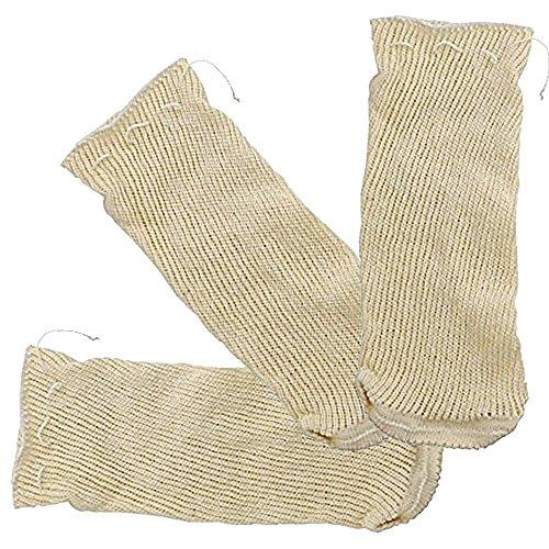 JPF - Malla Textil de Cocción - Bolsa para Legumbres - Especial Garbanzos - 1 Kg - Set de 3