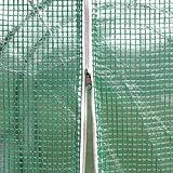 Deuba Foliengewächshaus – 7m² Treibhaus - 2