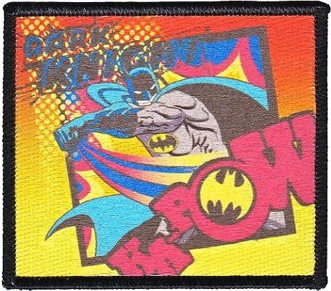 Patch - DC Comic - Batman - Ka-pow! Dark Knight Iron On Gifts Toys New p-dc-0065 by DC Comics