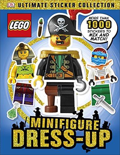 LEGO Minifigure Dress-Up! Ultimate Sticker Collection (Dk Ultimate Sticker Collection)