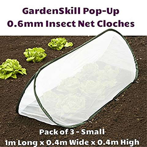 'Pack of 3 - Small - 1m x 0.4m x