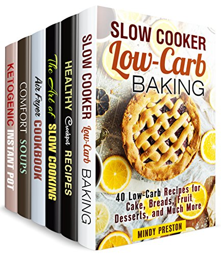 One Pot Recipes Box Set (6 in 1): Over 200 Slow Cooker, Airy Fryer, Pressure Cooker Meals to Save Your Time (Simple Meals) (English Edition)