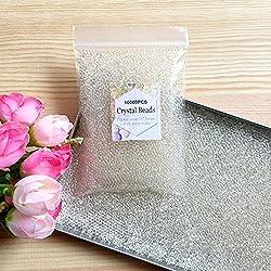 J&J - Lote de 10000 Perlas de Agua de Gel para decoración de Bodas, Navidad, jardín, Cocina, Entre 45 y 50 Gramos
