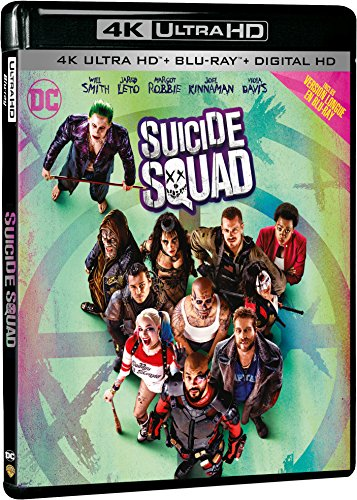 Suicide Squad - 4K Ultra HD - DC COMICS [4K Ultra HD + Blu-ray Extended Edition + Digital HD]