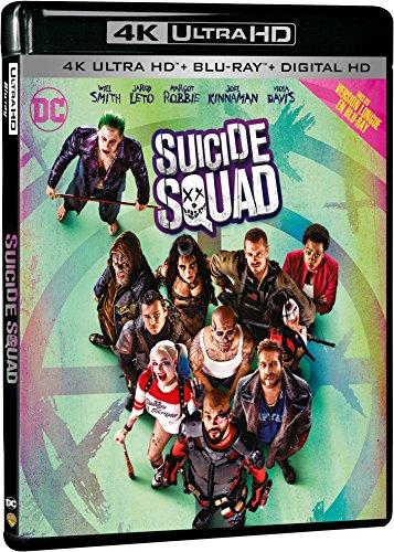 Suicide Squad - 4K Ultra HD - DC COMICS [4K Ultra HD + Blu-ray Extended Edition + Digital HD]