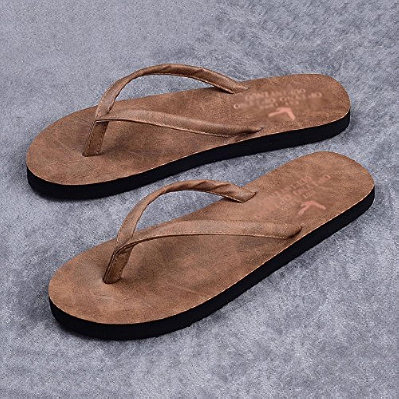 3d7c0283643633 les sandales huo huo huo hommes pantoufles antidérapantes un fond mou mode  chaussures de plage (couleur: noirs gris beige clair.b07dlqdrsj parent |  Terrific ...