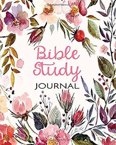 Bible Study Journal: Creative Christian Workbook For Men, Women and Kids (8x10)(120 Days Of Bible Study)(V13)