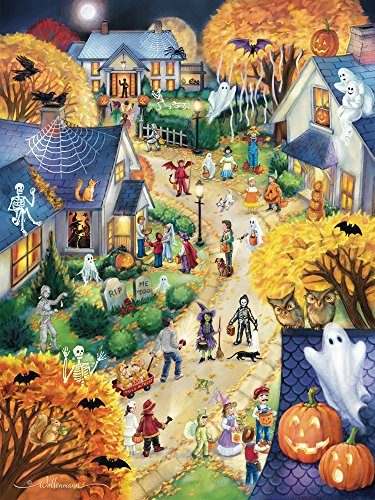 Vermont Christmas Halloween Town Jigsaw Puzzle 550 Teile