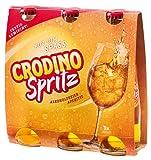 8x Crodino - Spritz Aperitiv, fix & fertig gemischt, alkoholfrei - 600ml