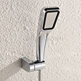 #6: High Pressure Rain Shower Head Bathroom Water Saving Stainless Steel Chrome New(6*3cm)