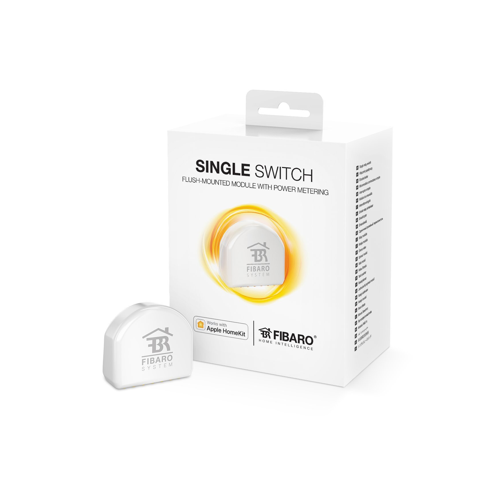 FIBARO HomeKit enabled Single Switch / Micromodule Commutateur HomeKit