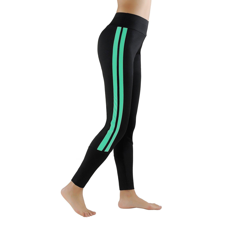 GoVIA Leggins para Damas Pantalones Deportivos Largos para Training Running  Yoga Fitness Transpirables con Cintura Alta 367f6466c0ae