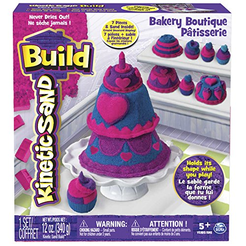 Preisvergleich Produktbild Spin Master 6027479 - Kinetic Sand Build - Bakery Boutique