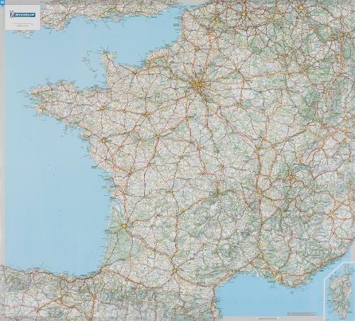 Carte Plastifie Roule France. par Collectif Michelin