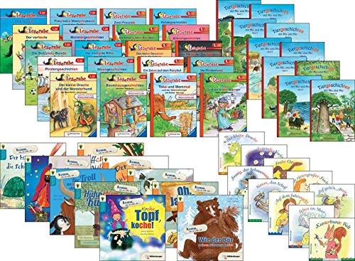 Das große Silben-Paket - Lesestufe 1: 30 Bände und 60 Hefte -