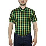 Relco Mens Check Short Sleeve Shirt