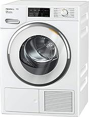 Miele TWJ 680 WP Wärmepumpentrockner/A+++ (193kWh/Jahr)/mit 9kg Schontrommel/mit Duftflakon für frisch duftende Wäsche/Wäschetrockner per WLAN mit Smartphone steuerbar/Dampffunktion zum Vorbügeln