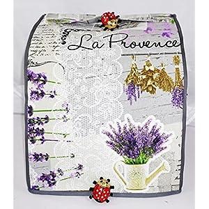 Abdeckhaube, Thermomix TM 31, Mod. Lavendel II, Sonderanfertigung für einen TM 31, Cover, Husse, Küchenmaschine,